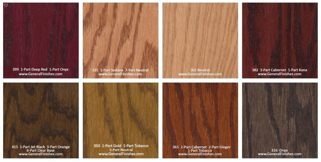 Hardwood floor stain color chart rhodes hardwood flooring for Hardwood floors stain colors