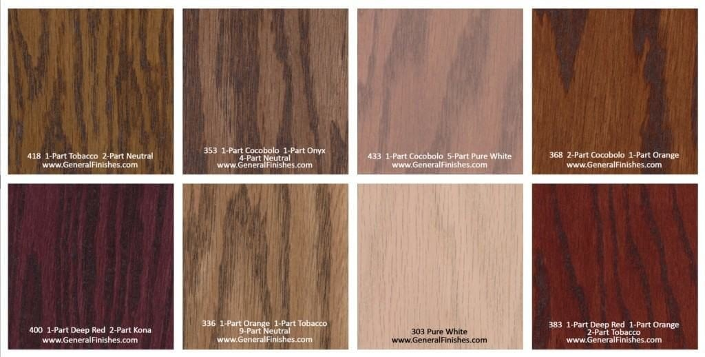 Hardwood floor stain color chart rhodes hardwood flooring for Hardwood floor color options