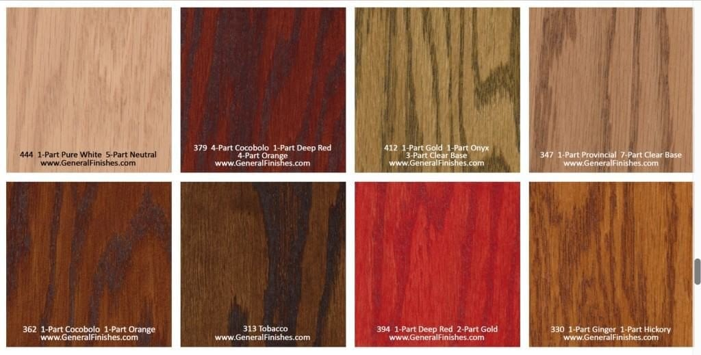 This Waterbased Stain Has Very Low Voc S And It Works Well For Staining Most Wood Types Available In 19 Colors As 100 Color Mi