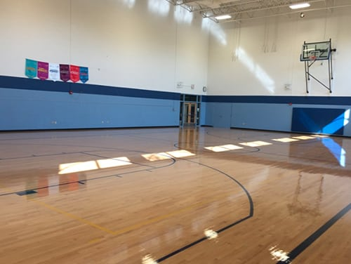 rhodes hardwood gym floor resurfacing MN