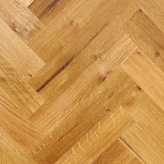 herringbone white oak large