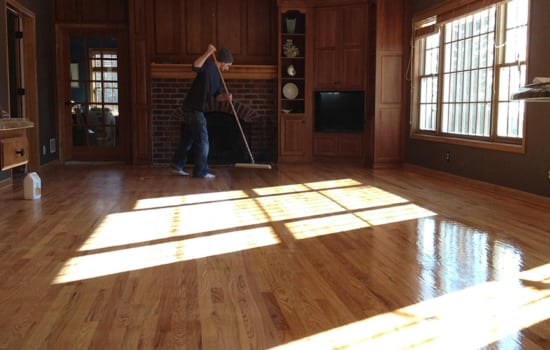 rhodes hardwood custom flooring Process