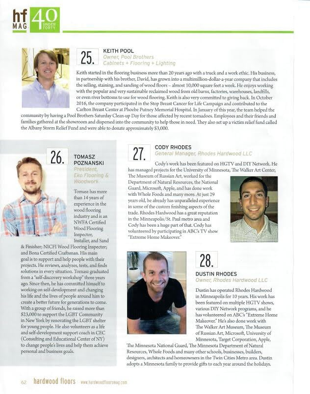 rhodes hardwood 40 under 40 part 2 article mn